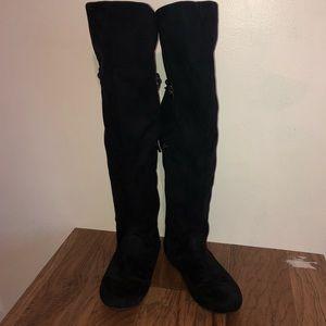 Fergalicious Tart Over The Knee Boots
